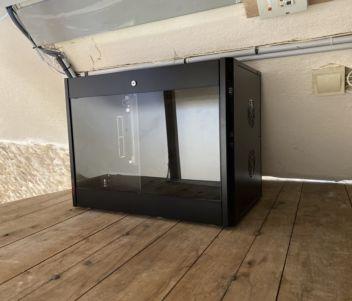 Installation dun système de vidéosurveillance avec baie informatique pour securiser l'enregistreur