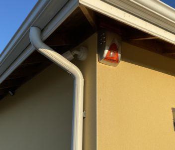 Sirène extérieure & caméra de vidéo protection pour particulier